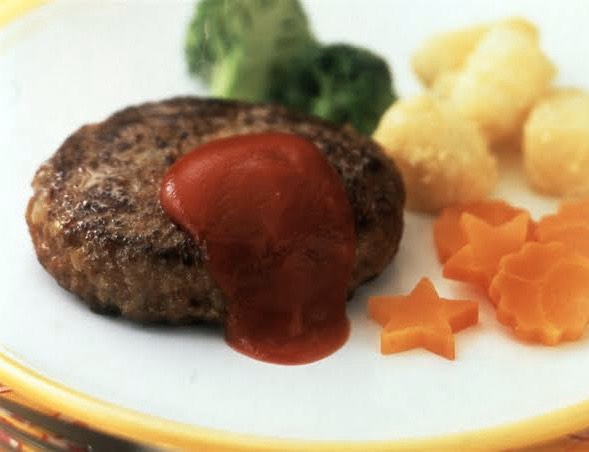 Mackerel Tofu Hamburger Steak